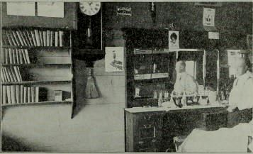 Traveling Library Station: Barber Shop