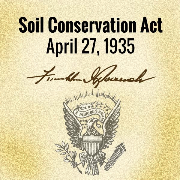 Soil Conservation Act 1935