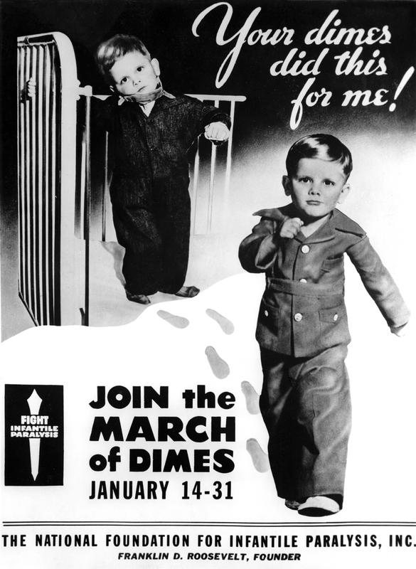 March of Dimes, Polio Campaign