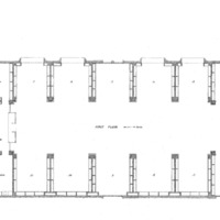 01. Blueprints of the State Law Library of Iowa- First Floor