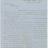 51. Iowa Gov. Samuel J. Kirkwood to Lincoln on enlistment of African-American soldiers