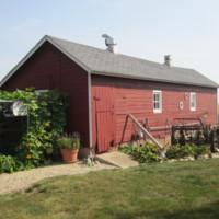 014.   Wooden Hen House built in 1940
