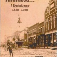 Anamosa... Reminiscence 1837-1988