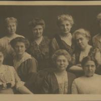 0100.  Des Moines Women's Club Minutes, 1885-1891