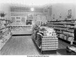 Co-op grocery, interior view, Iowa City, Iowa, December 18, 1941