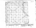 Iowa land survey map of t071n, r032w