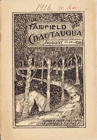 1916 Fairfield Chautauqua program