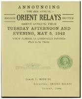 Orient, Iowa Relays - 1942