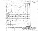 Iowa land survey map of t091n, r042w