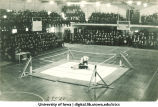 Wrestling match, The University of Iowa, 1923