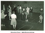 Square dancing, The University of Iowa, 1930s