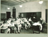 University High School classroom, The University of Iowa, April 1929