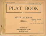 Plat book of Mills County, Iowa