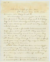 43. Gen. Samuel R. Curtis to Lincoln requesting interview for St. Louis Unionists