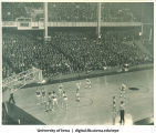 Men's basketball game, The University of Iowa, 1930s