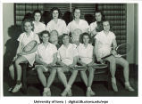 Tennis team, The University of Iowa, 1940s