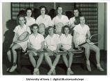 Tennis team, The University of Iowa, 1940s