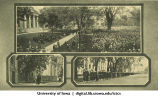 Set of commencement photos, The University of Iowa, 1910s