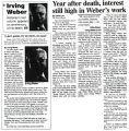 Iowa City Press Citizen clippings, 1998