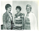 Janet Johnson, Margaret McDonald, and Mary Louise Smith at Republican Party gathering, 1973