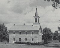 Ceres Church (St. Peter's German Evangelical Lutheran) at Ceres, Iowa -1980