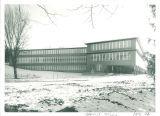 University Hospital School for Handicapped Children facing east, the University of Iowa, 1952