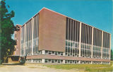 Southeast side of Law Center, the University of Iowa, 1960