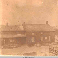Schwestern Versammlungs Saal, church building, Amana, Iowa, 1900s