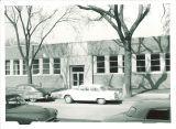 Southern side of Iowa Memoral Union, the University of Iowa, 1955