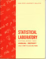 Statistical Laboratory Annual Report, July 1, 1967 to June 30, 1968
