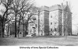 Science Hall on Pentacrest, The University of Iowa, between 1894 and 1897