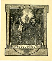 Stuart Walker Bookplate