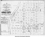 Map of Iowa City, Iowa City, Iowa, 1839