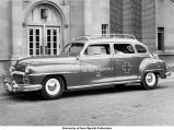 Ambulance, The University of Iowa, 1948