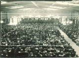 University orchestra concert in Main Lounge of Iowa Memorial Union, The University of Iowa, 1920s
