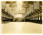 State Gymnasium decorated for a military ball, 1915