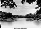 Iowa River course, Iowa City, Iowa, 1939