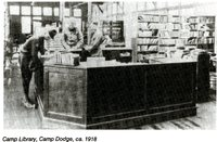 Camp Dodge Library, 1918