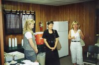 2000 - Ladies from Hope Haven at JB's going away party