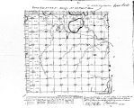 Iowa land survey map of t096n, r020w