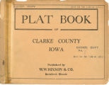 Plat book of Clarke County, Iowa