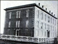 Temporary Capitol in Des Moines, Iowa