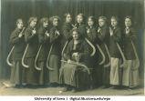 Field hockey team, The University of Iowa, 1910s