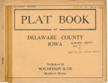 Plat book of Delaware County