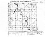 Iowa land survey map of t096n, r016w
