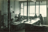 Daily Iowan newspaper office, The University of Iowa, January 1924