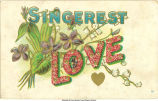 """Sincerest love,"" 1900s"