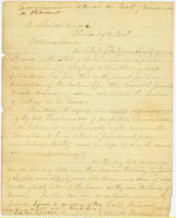 40. Caleb Russell and Sallie A. Fenton to Lincoln expressing Iowa Society of Friends' support for Emancipation Proclamation