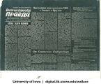 Photostat copy of Russian language East Siberian Pravda, Siberia, 1944