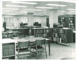 Special Collections reading room, the University of Iowa, 1970